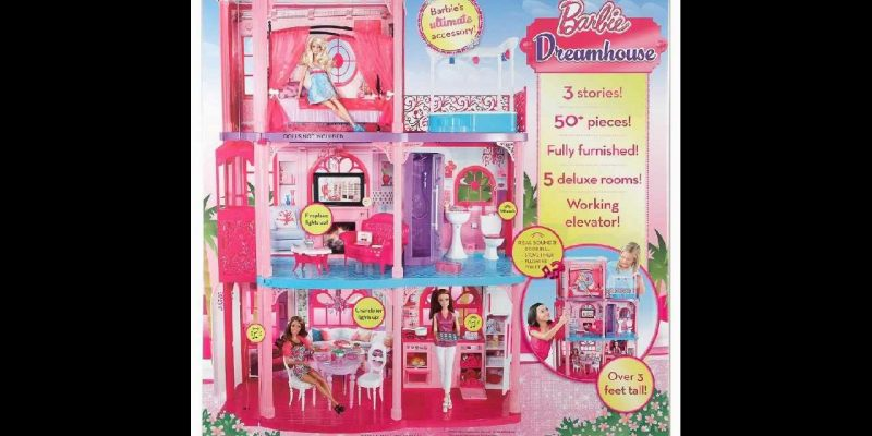 Barbie 3 Story Dream Townhouse Is A Must For Any Barbie Fan
