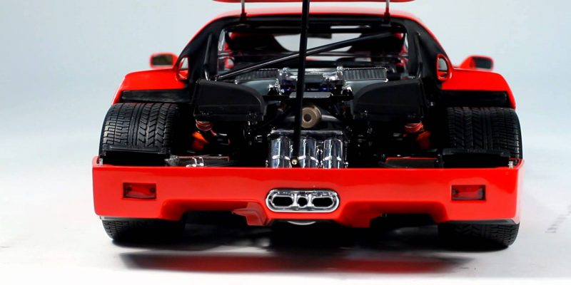 Ferrari F40 Light Weight Red Kyosho