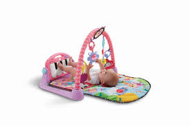 A Fisher-Price Kick & Play Piano Gym