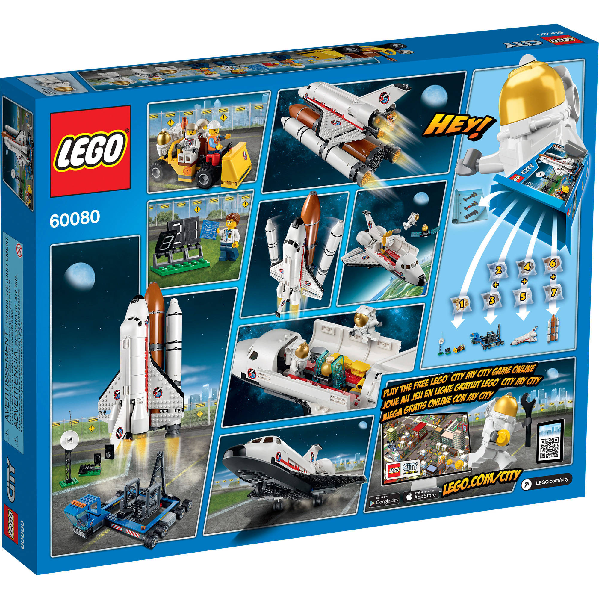 LEGO City Space Port 60080 Review - Great Christmas Toy Ideas