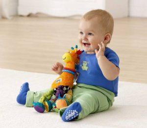 Lamaze Stretch The Giraffe & Baby