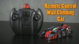 The SZJJX Spiderman Wall Climber Climbing RC Car With Remote