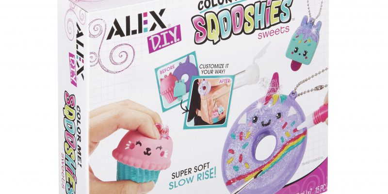 ALEX DIY Color Me Sqooshies – Sweets Boxed