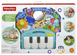 Fisher-Price Kick & Play Piano Gym In Box