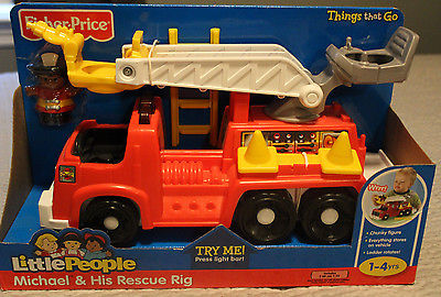 Fisher-Price Michael and His Rescue Rig
