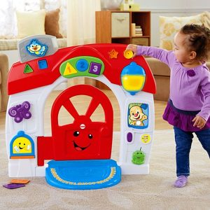 Laugh & Learn Smart Stages Home Playset In Action