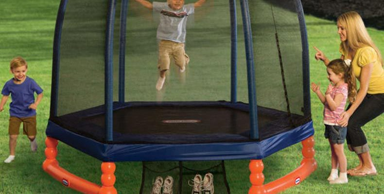 The Little Tikes 7ft Trampoline
