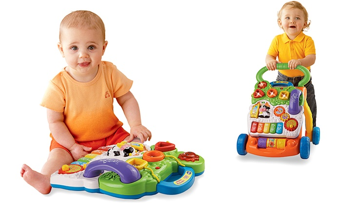 Best Walkers For Babies VTech Sit-to-Stand Learning Walker.