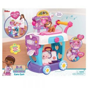 Doc McStuffins Toy Hospital Care Cart In Box