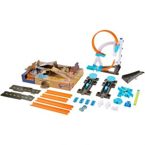 Hot Wheels Track Builder System Stunt Kit Playset - Out Of Box