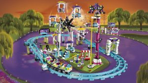 LEGO Friends Amusement Park Roller Coaster 41130 - Toys for 11-year-olds