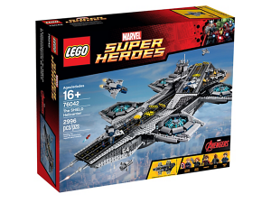 Lego Helicarrier Review boxed