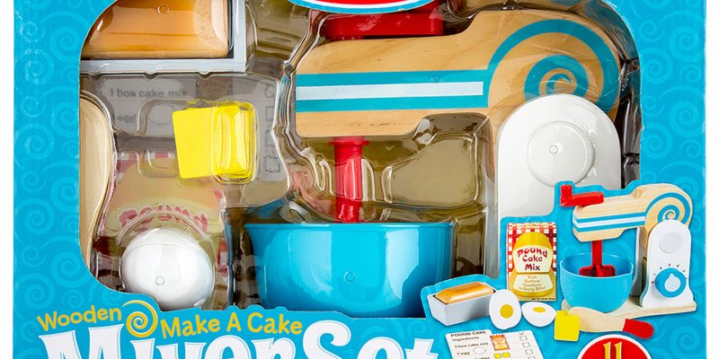 The Melissa And Doug Mixer Set