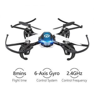 best drones under 200 Holy Stone HS170 Predator Mini RC Helicopter Drone 2.4Ghz 6-Axis