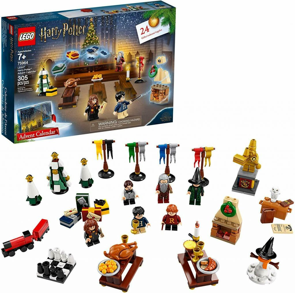 LEGO Advent Calendar - LEGO Harry Potter Advent Calendar 75964 Building Kit,