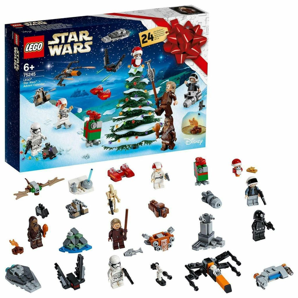 LEGO Star Wars Advent Calendar 75245 Building Kit,