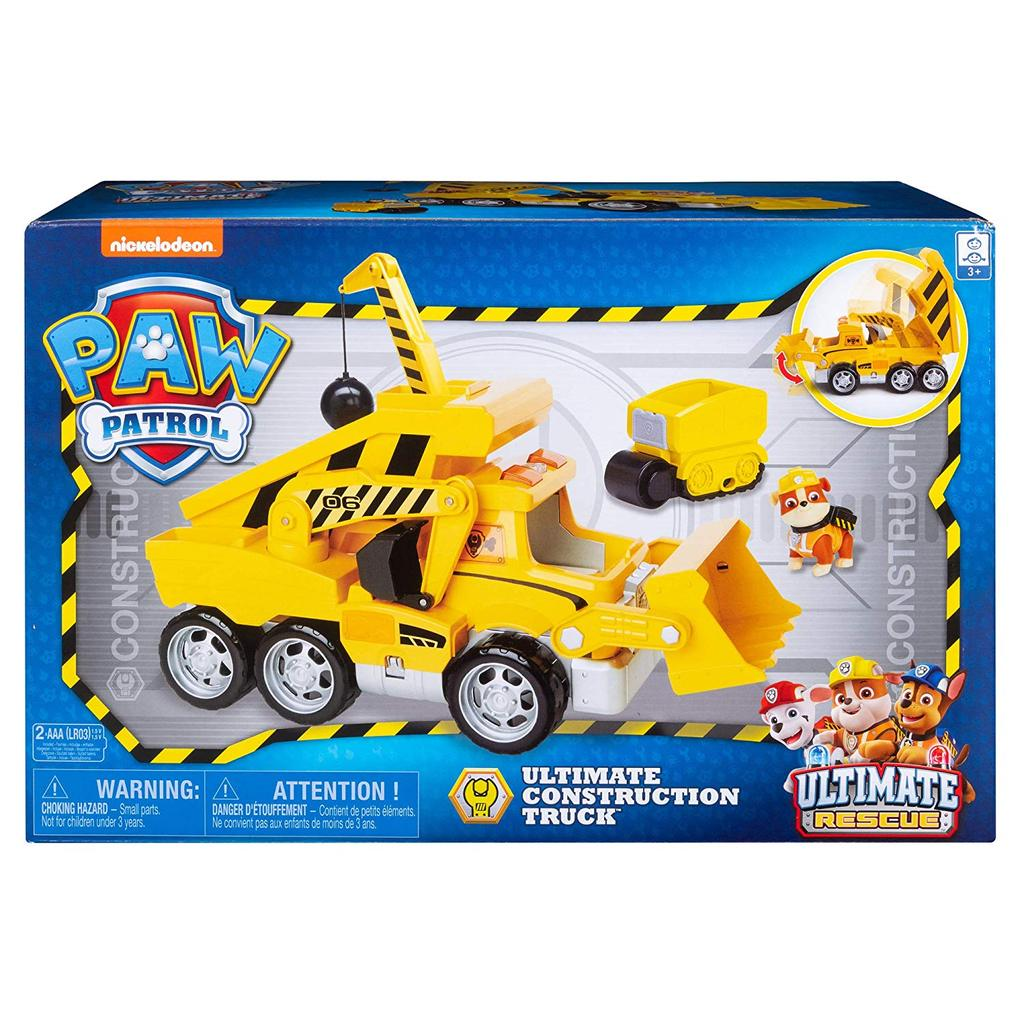 Best Paw Patrol Toys Our Paw Patrol Ultimate Rescue Construction Truck Review