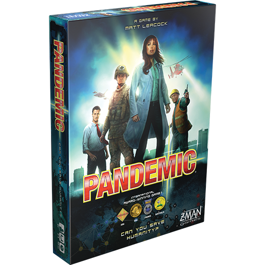 Pandemic Board Game 2-4 players